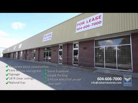 South Vancouver (69th & Ontario) Industrial space for Lease