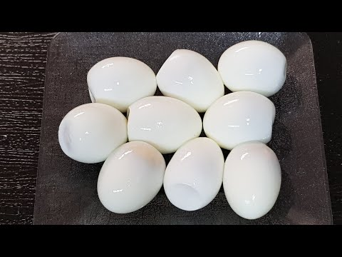 삶은 계란 껍질 쉽게 벗기는 방법 5초면 삶은