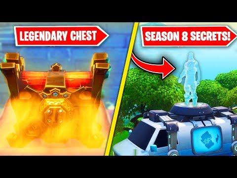 NEW SEASON 8 EASTER EGGS & SECRETS in Fortnite! (Secret Chest, Respawn & MORE) thumbnail