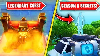 NEW SEASON 8 EASTER EGGS & SECRETS in Fortnite! (Secret Chest, Respawn & MORE)