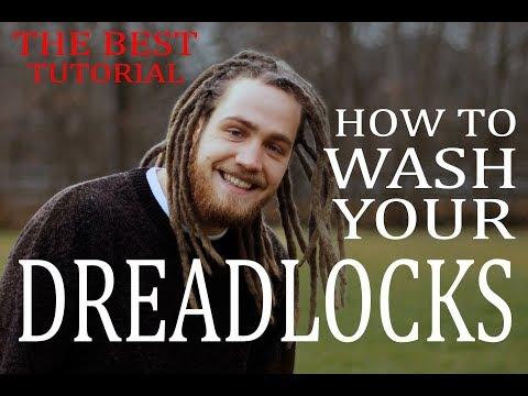 How To Wash Dreadlocks Tutorial