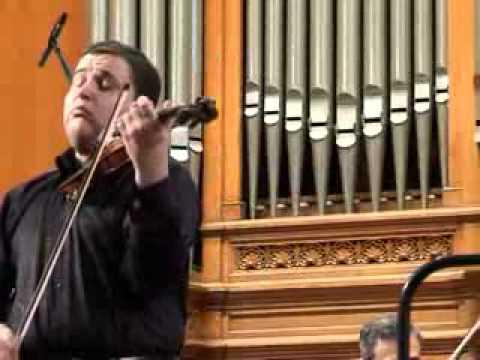 Ilian Garnet - Concertul Sibelius la Moscova