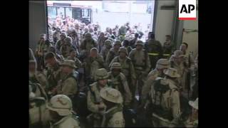 VOICE: US troops leave for training exercise in Persian Gulf