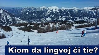 Multaj lingvoj sur la skivego | Esperanto vlogo