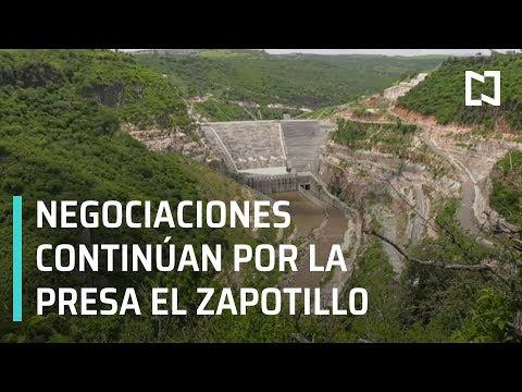 AMLO evalúa con gobernadores y pobladores continuidad de la presa El Zapotillo - En Punto