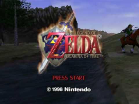Legend of Zelda: Ocarina of Time (N64) Intro