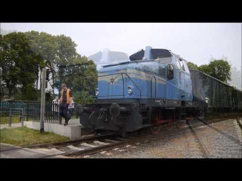 Die Henschel Diesellok der Hespertalbahn