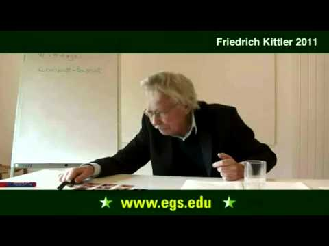 Friedrich Kittler. Introduction and the Ancient World. 2011