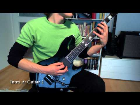 Iron Maiden - Fear of the Dark (FULL guitar cover and lesson)