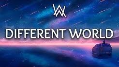 Alan Walker ‒ Different World (Lyrics) ft. Sofia Carson, K-391, CORSAK