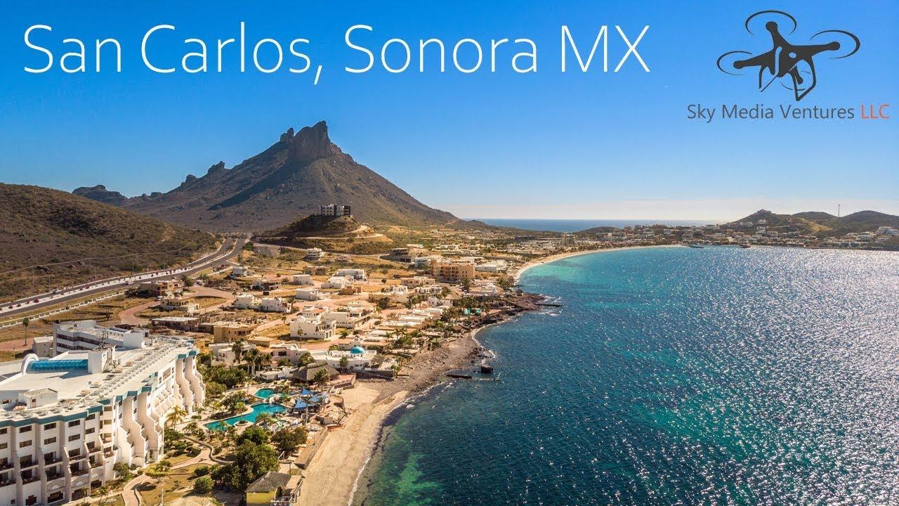 San Carlos Sonora Mexico Map.San Carlos Sonora Mexico Dji Mavic Air Youtube