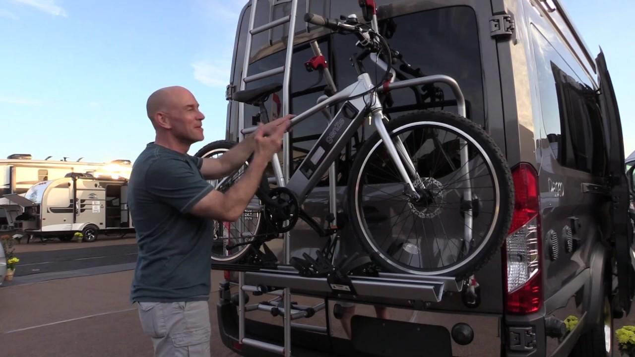 Winnebago's New Bike Rack - YouTube