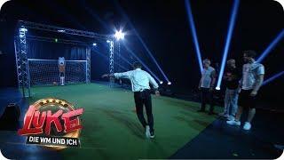 Legenden vs. Maschine - Elfmeterschießen gegen den RoboKeeper - LUKE! Die WM und ich