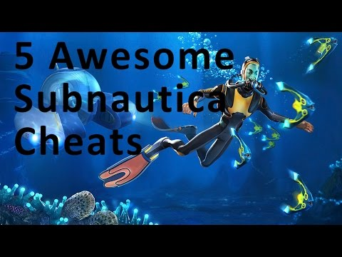 5 Awesome Cheats In Subnautica In 5 Minutes