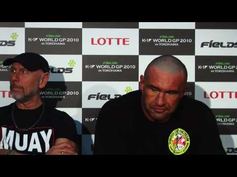Jerome Le Banner's Post-Fight Interview