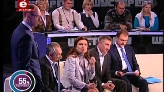 LB.ua Богословская и Яценюк