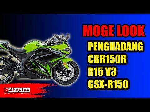 Desain Tajam ! pesaing motor sport 150cc honda yamaha dan suzuki ini ,Harganya Cuma Segini sob!