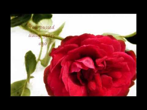 Mother's Day video poem for deceased mother: This Mother's Day