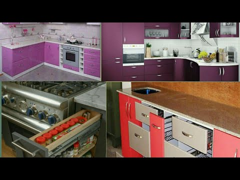 Best Colour Combination Of Modular Kitchen And Kitchen Trolley
