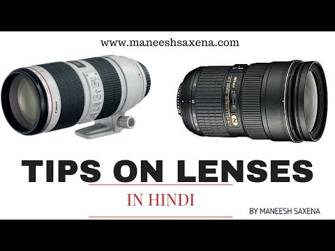 Important lenses for fashion photography | Photography gears in Hindi