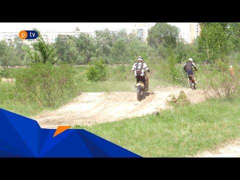 Полтавське ТБ: Біля Ворскли два місяці тому без дозволу облаштували місце для занять із мотокросу