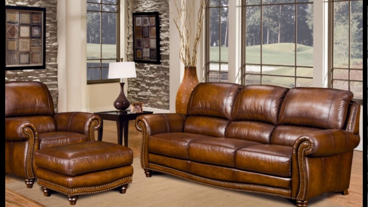 Marvelous Splendid Full Grain Leather Sofa Ideas For Your Living Room Decoration