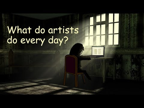 Casually Explained: What Do Artists Do Every Day?