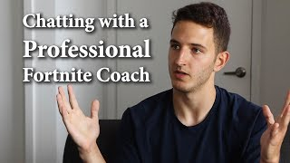 Chatting with a Professional Fortnite Coach
