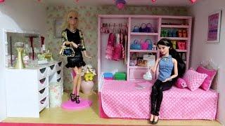 Vlog: Tour pelo Quarto da Barbie ou Outras Bonecas (Dicas para Montar seu Quartinho)