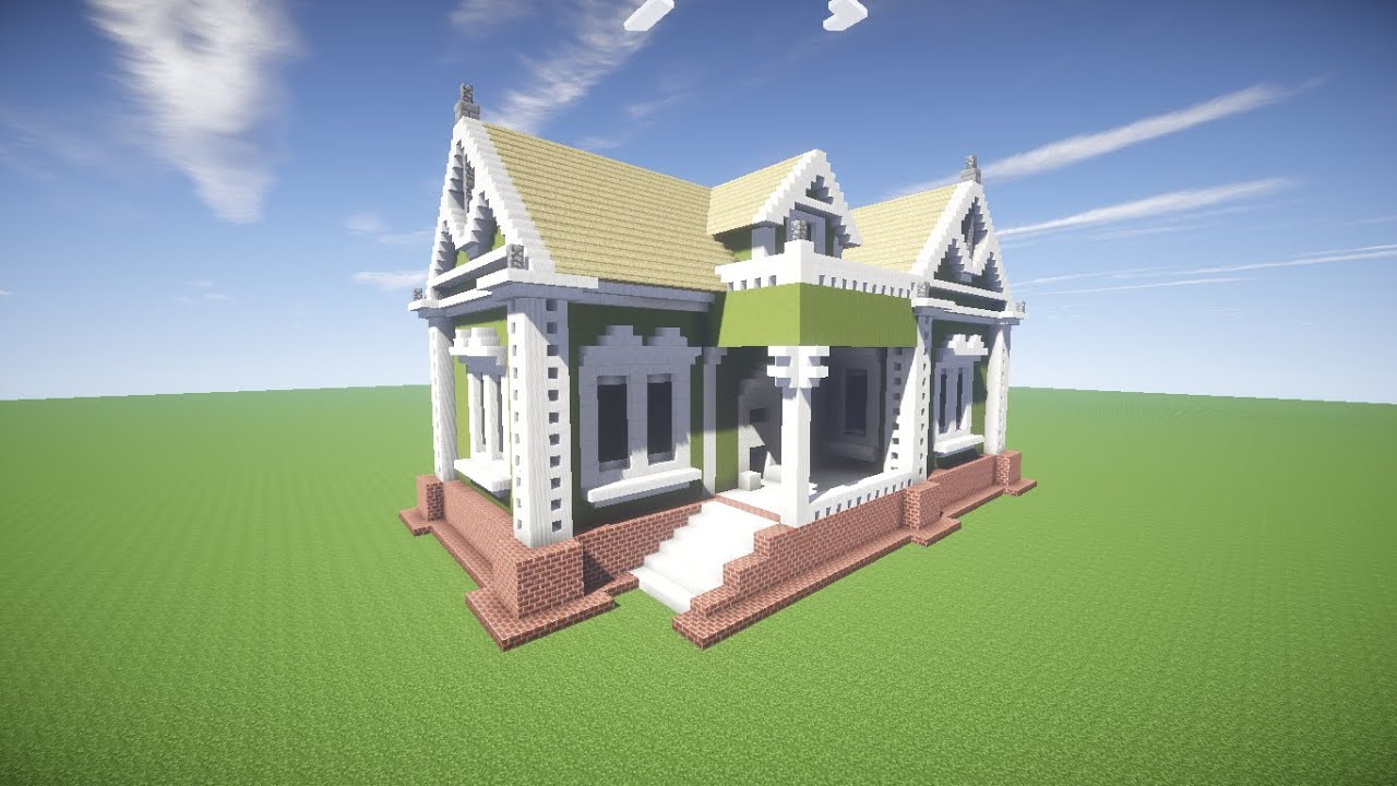 Minecraft como fazer uma casa simples 12 youtube - Como se construye una casa ...