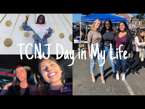 A Day In My Life At The College Of New Jersey | TCNJ VLOG | Kenu Ogbevire