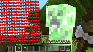 Paso Minecraft pero Tu vida se Multiplica Cada Vez que Te Explota un Creeper