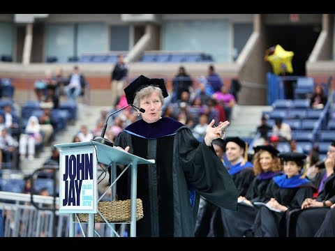 2017 COMMENCEMENT:  Mary L. Bonaut Speech, Plus Full  Ceremony