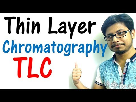 Thin layer chromatography (TLC) principle explained