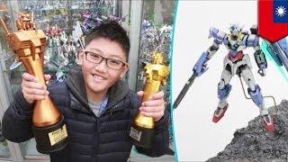 ガンプラ大会 台湾小6が入賞 ガンプラワールドカップ 検索動画 14