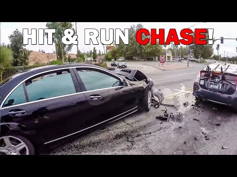 CRAZY HIT & RUN CHASE | CRAZY, STUPID & ANGRY PEOPLE vs BIKERS | [Ep. #302]