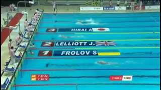 Золото Сергея Фролова на Универсиаде в Гванджоу 2015 Плавание 800 вольный стиль
