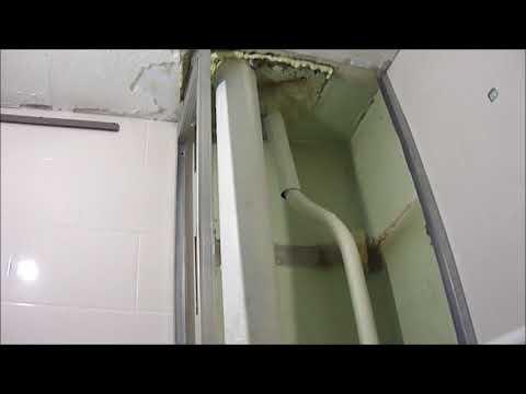 Как сделать короб из панелей и закрыть трубы канализации и водопровода,сантехнические лючки.
