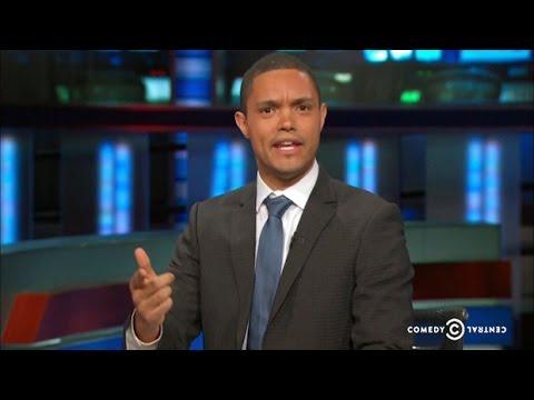 Trevor Noah debuts on The Daily Show - YouTube  Trevor Noah deb...