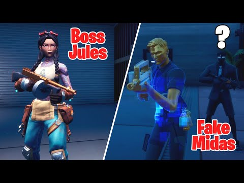 I Pretended to be Boss Midas at The Authority in Fortnite!