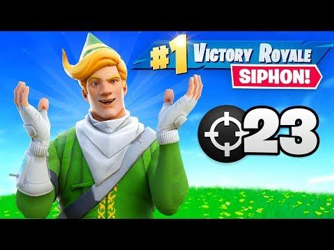 FORTNITE ADDED SIPHON BACK!!!  (23 Elims)