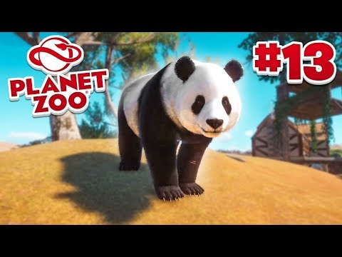 GIANT PANDAS! - Planet Zoo #13 w/ Vikkstar