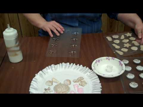 Making Chocolate Candies Using Seashell Candy Molds