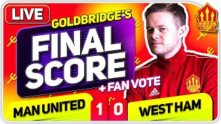 GOLDBRIDGE! Manchester United 1-0 West Ham Match Reaction