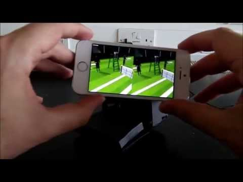 Pitch Prototype - Wimbledon VR IPhone App With Cardboard Headset