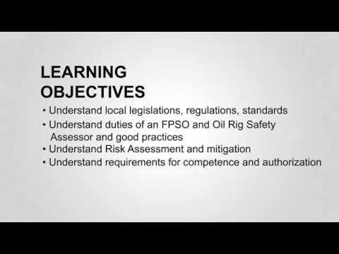 OGSC FPSO & Oil Rig Safety Assessor Course