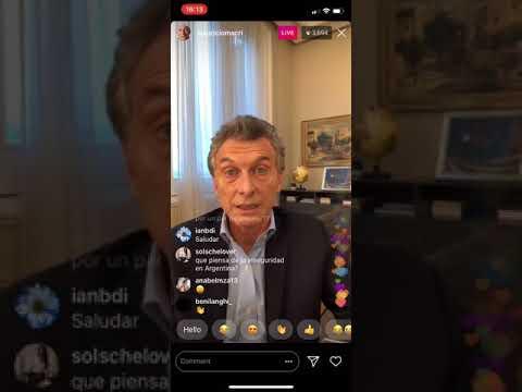 Macri lloró cuando le preguntaron que es lo que más va a extrañar de ser presidente