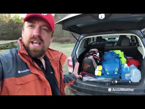 AccuWeather's Reed Timmer prepares for winter storm - YouTube