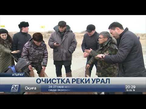 Начались работы по очистке реки Урал