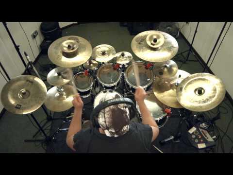 "SYNAPTIK ""Human/Inhuman"" Drum play through Progressive Metal"